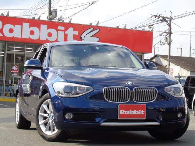 BMW 1シリーズ 116i スタイル 純正HDDナビ 360°ドラレコ Bカメラ アイドリングストップ ハーフレザーシート Bluetooth ターボ 純正AW HID フォグ オートライト ETC スマートキー プッシュスタート