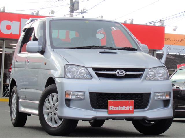 ダイハツ カスタムL 4WD/背面タイヤ/CD/ターボ/キーレス
