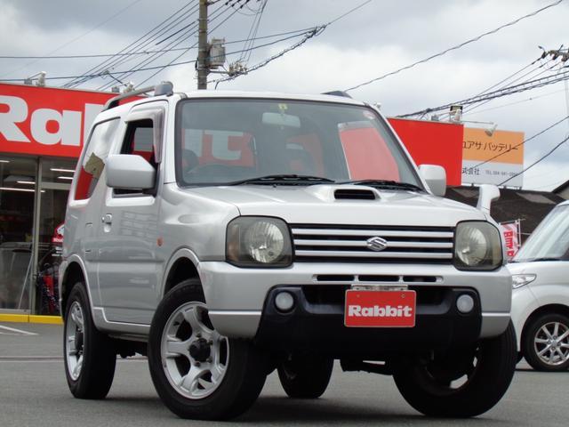 スズキ ジムニー XC 4WD/ターボ/ルーフレール/純正フォグライト/CD/キーレス
