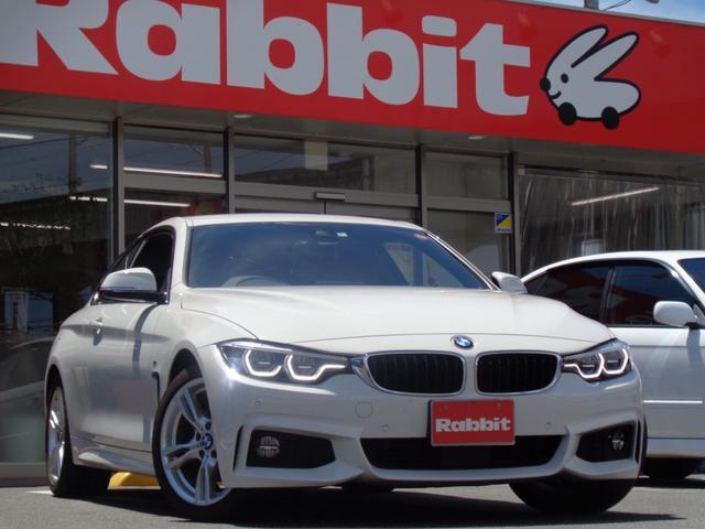 BMW 4シリーズ 420iクーペ Mスポーツ LEDヘッドライト/18インチAW/純正ナビ/フルセグTV/ リアビューカメラ/純正ETC/アクティブクルーズコントロール レーンチェンジ