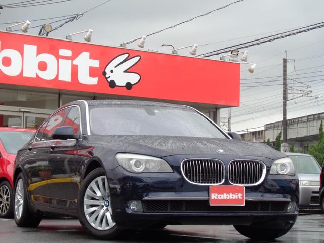 BMW 7シリーズ 750Li 750Li/4人乗り/右ハンドル/サンルーフ/ハーフレーザーシート/電動リアゲート/メーカーHDDナビ/フルセグTV/バックカメラ