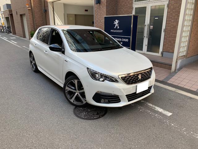 プジョー GTライン 認定中古車 当社デモカー CarPlay対応