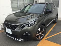プジョー 3008GTライン当社試乗車 新車保証継承車両 カープレイ対応車種