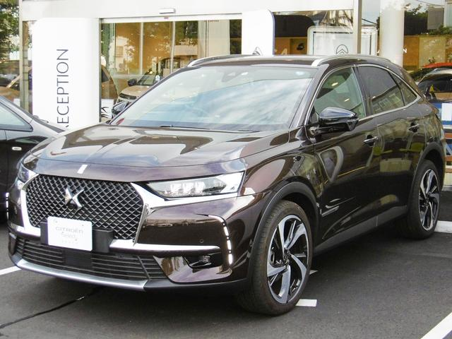 citroen ds7 crossback grand chic blue hdi 2018 d brown m 5 800 km details japanese