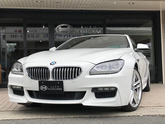 BMW 650iクーペ MスポーツPKG 20AW 赤レザー 左H