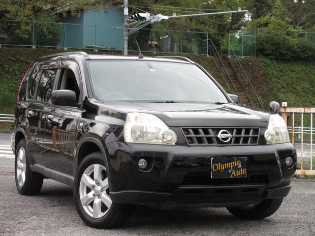 日産 20X 4WD ワンオーナー 社外HDDナビ ETC インテリキー フォグ