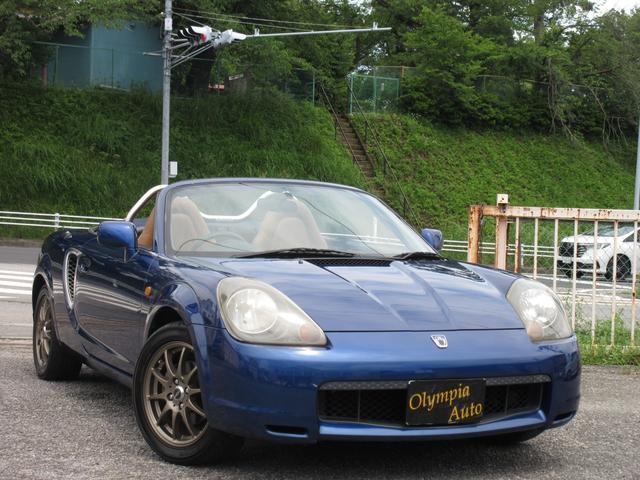 トヨタ MR-S Vエディション 幌張替済み タンレザーシート 5速MT オクヤマスタイルバー
