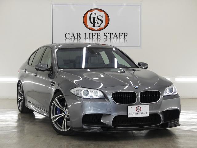 BMW M5 サンルーフ 純正20AW ローダウン 外カーボンリップ