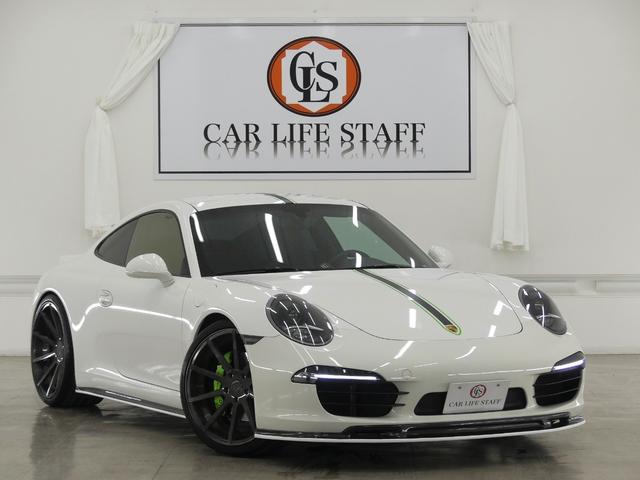 ポルシェ 911カレラS スポーツクロノPKG パワークラフトマフラー