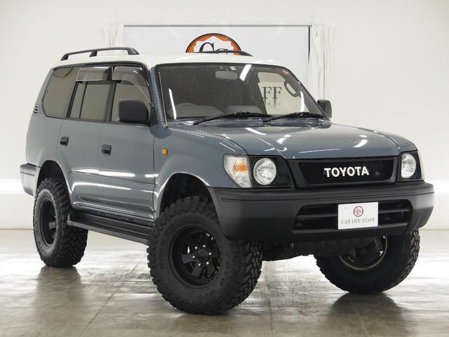トヨタ 4WD 丸目ナロー仕様 社外リフトアップ 色替車