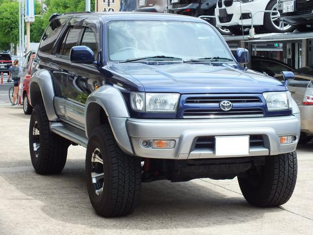 トヨタ SSR-X 4WD リフトアップ ヒッチ オーバーフェンダ