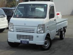 キャリイトラックKU 4WD エアコン パワステ ワンオーナー車