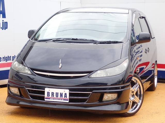 トヨタ アエラス天吊モニターヘッドレストモニター四つBカメ付HDナビ