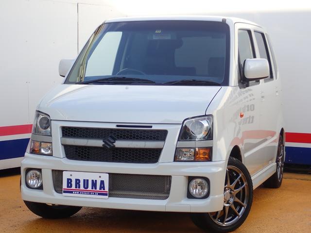 スズキ RR-DIターボ4WD禁煙車HDDナビETC黒革調シート