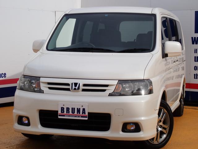 ホンダ スパーダ24T電動リアG黒革調シートカバーBカメ付ナビ後期型