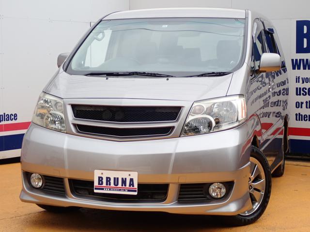 トヨタ ASプレミアム4WD天吊モニターHDDナビETC両側パワスラ