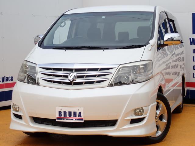 トヨタ MSプラチナ 4WD両側パワスラ電動リアゲートTベル交換済