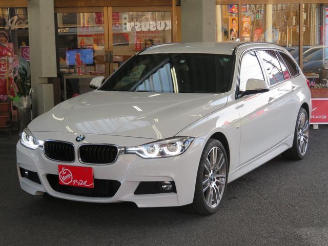 BMW 320i xDriveツーリング Mスポーツ 4WD車 メーカーナビ アドバンスアクティブセーフティ ACC シートヒーター パワーシート パワーバックドア 19インチMスポーツアルミ バックカメラ 禁煙車 パドルシフト スペアキー