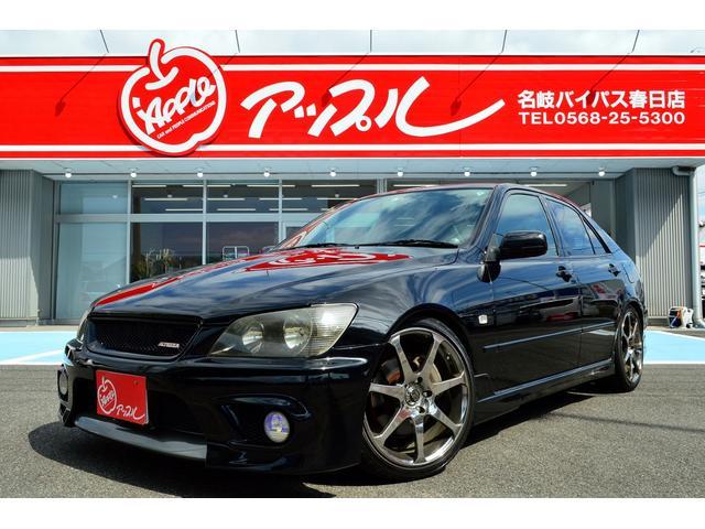 トヨタ アルテッツァ  6速MT 17インチAVSモデル7 スモークテール 車高調 マフラー