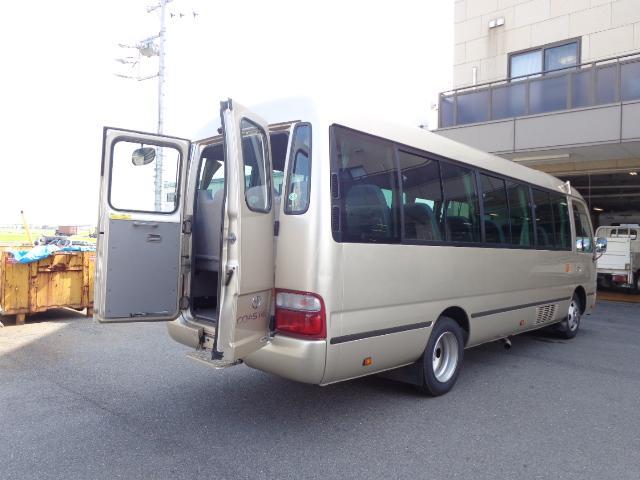 トヨタ EX29人 リヤ観音ドア 後席モニター 自動ドア ナビ