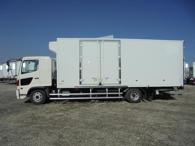 日野 冷凍車-30℃サイド観音ドア 格納ゲート エアサス