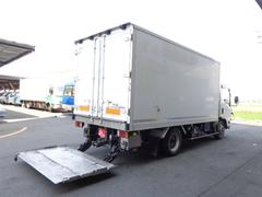 エルフトラック3トン冷蔵冷凍車−30℃スタンバイ 格納ゲート