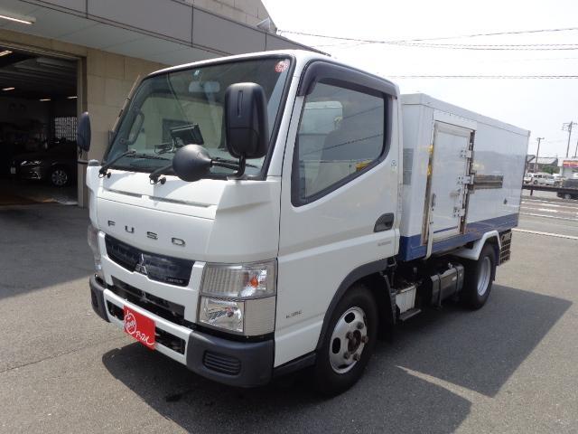 三菱ふそう 4WD 2t 冷蔵冷凍車 -30度 荷室290X149X89
