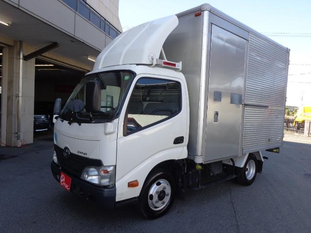 トヨタ 2トン アルミバン ナビ バックカメラ