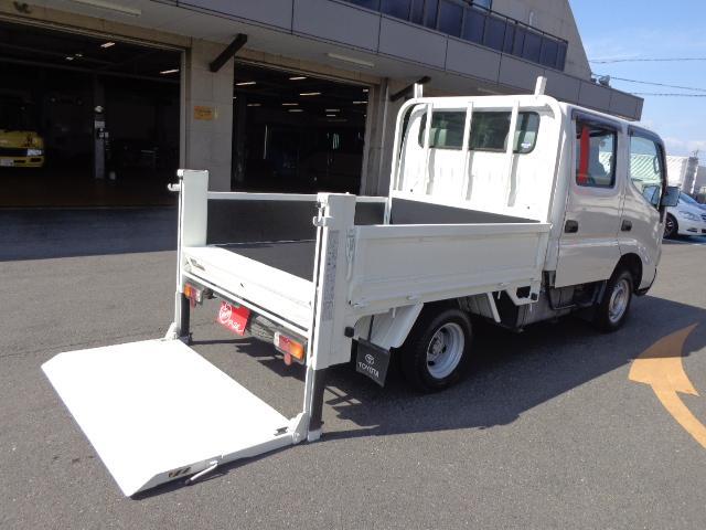 トヨタ Wキャブ 1.1トン 垂直パワーゲート