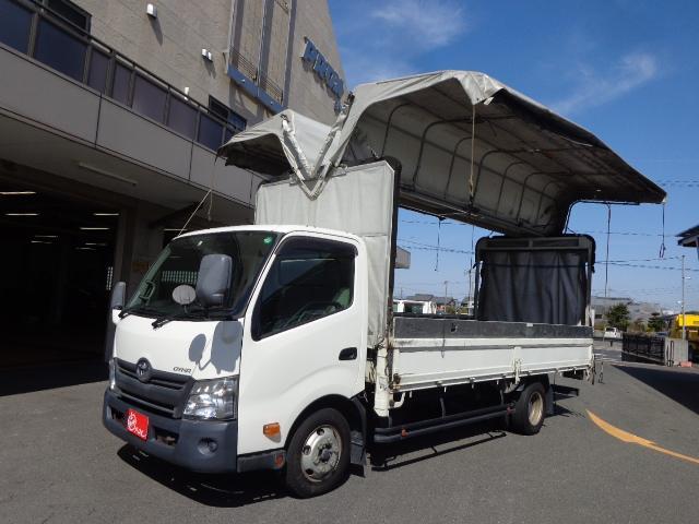 トヨタ 3トン ワイド超ロング 幌ウイング