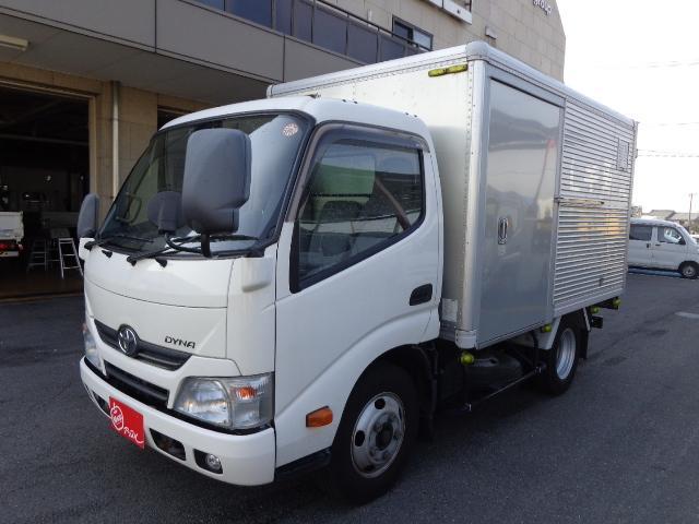 トヨタ 3トン アルミバン 車両総重量5865kg
