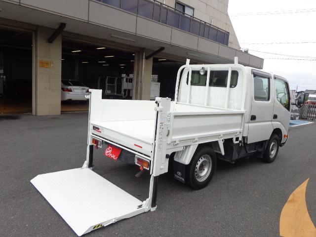 トヨタ 4WD Wキャブ 積載850kg 垂直パワーゲート