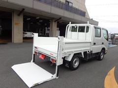 ダイナトラック4WD Wキャブ 積載850kg 垂直パワーゲート