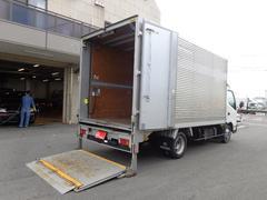 ダイナトラック2トン アルミバン スライドリフト