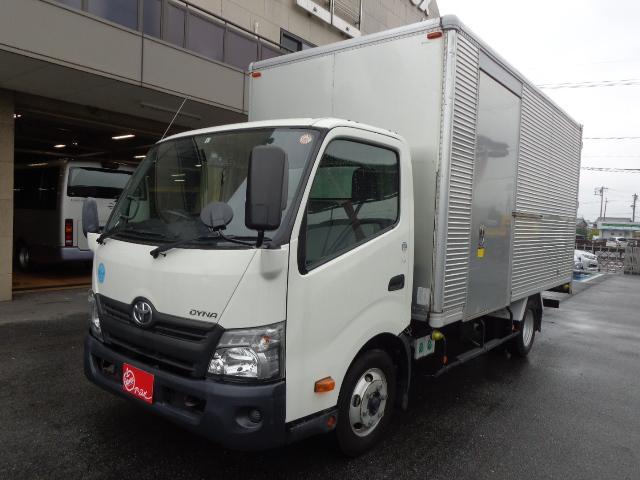 トヨタ 積載3トン アルミバン バックカメラ