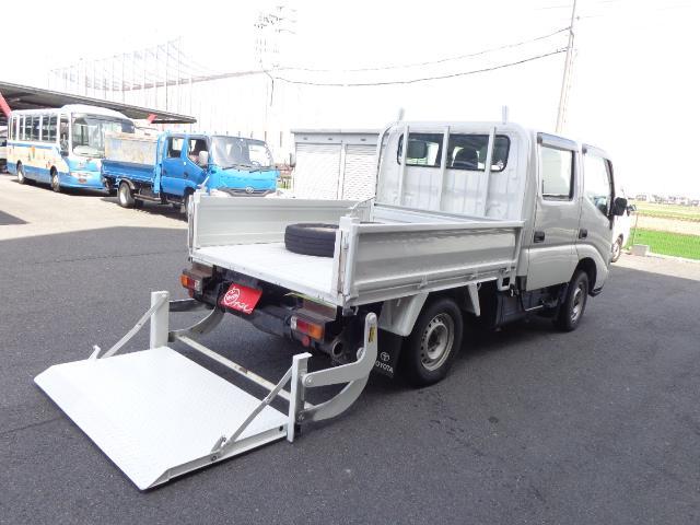 トヨタ 4WD Wキャブ 積載750kg パワーゲート