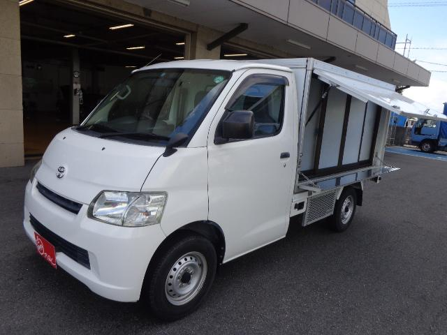 トヨタ 移動販売 冷蔵冷凍車 ナビ