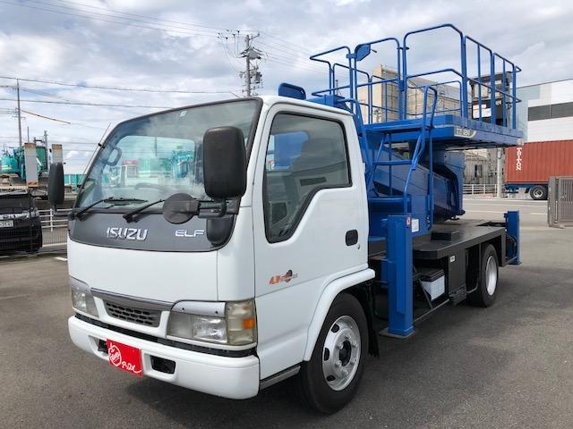 いすゞ 高所作業車 アイチ 12m