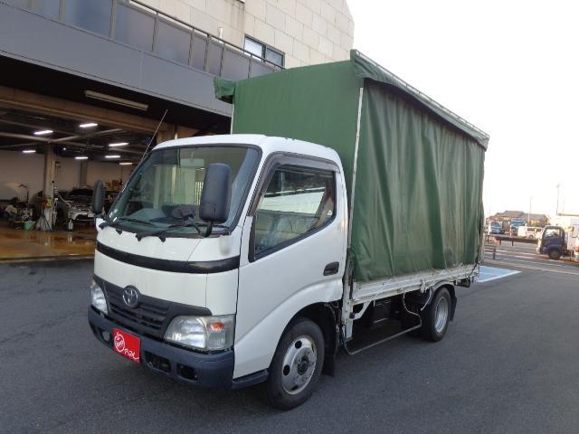 トヨタ 積載2トン 幌カーテン車