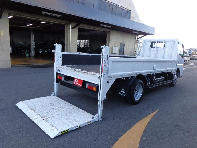 三菱ふそう 積載2トン 標準ロング 垂直パワーゲート