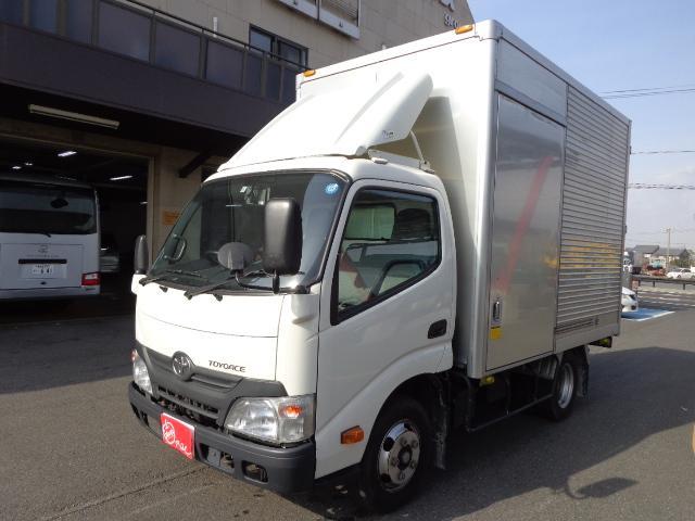トヨタ 積載2トン アルミバン サイドドア