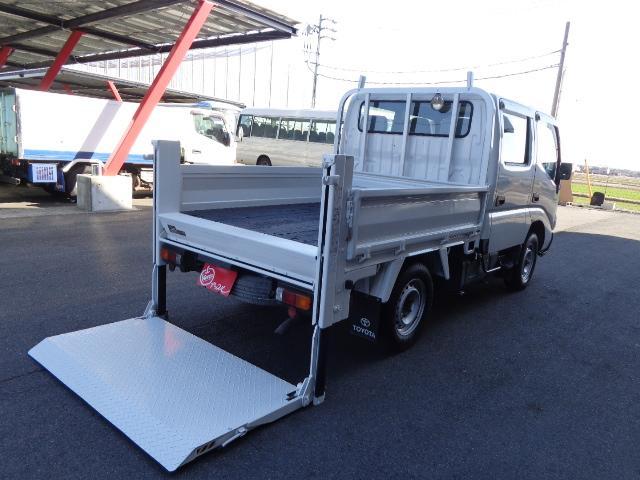 トヨタ 4WD Wキャブ 800kg 垂直パワーゲート