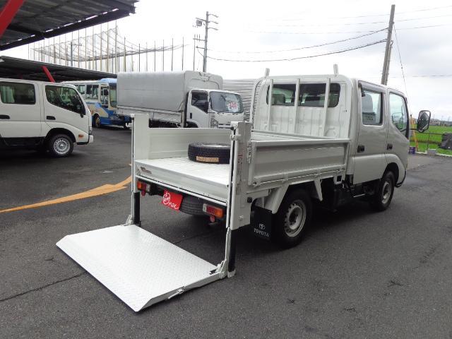 トヨタ 4WD Wキャブ 850kg 垂直パワーゲート