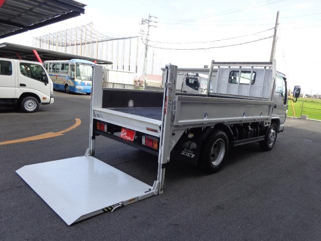 いすゞ 4トン 標準セミロング 垂直パワーゲート