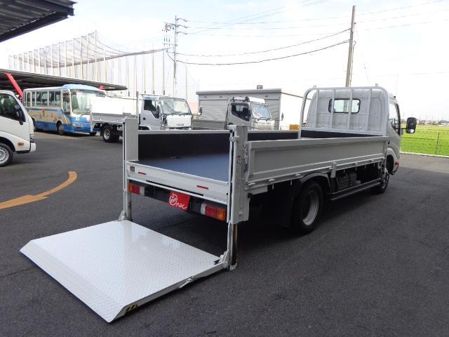 日野 2トン 標準ロング 垂直パワーゲート