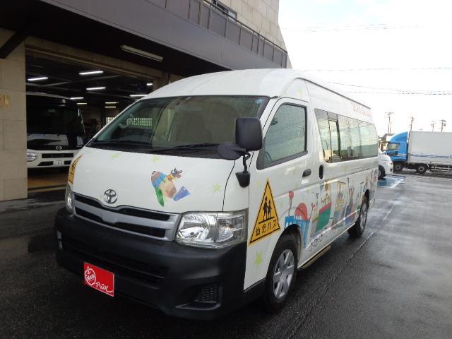 トヨタ 幼児バス 4+18/1.5人乗り ナビ バックカメラ