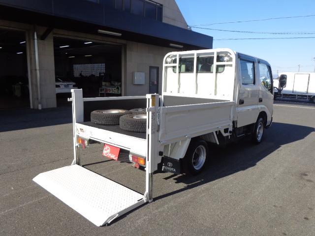 トヨタ ダイナトラック Wキャブ 1.15トン 垂直パワーゲート