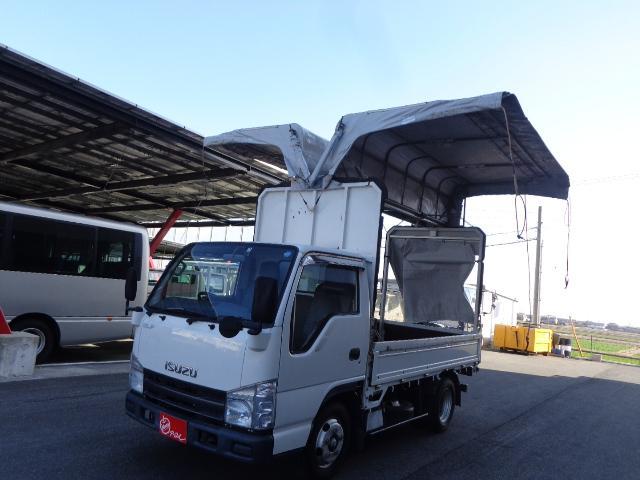 いすゞ エルフトラック 積載2トン 幌ウイング