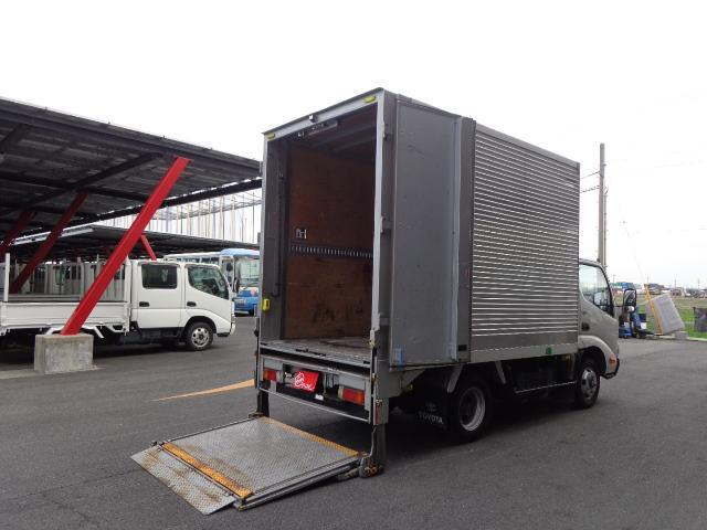 トヨタ ダイナトラック 2トン アルミバン スライドリフト