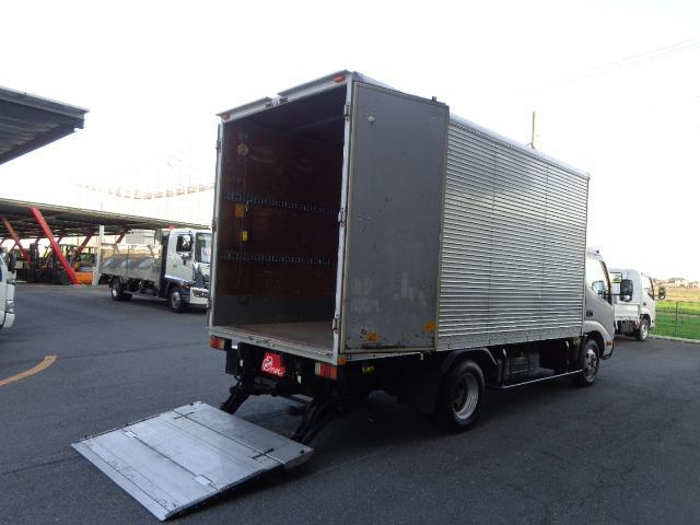 トヨタ 2.85トン アルミバン 格納ゲート 標準ロング